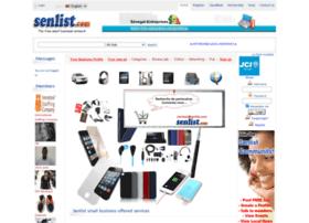Senlist.com thumbnail