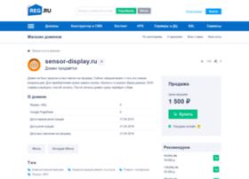 Sensor-display.ru thumbnail