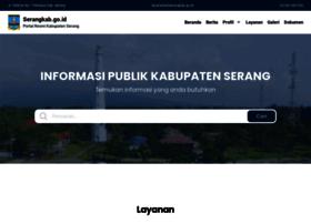 Serangkab.go.id thumbnail