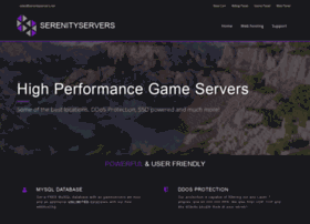 Serenityservers.net thumbnail
