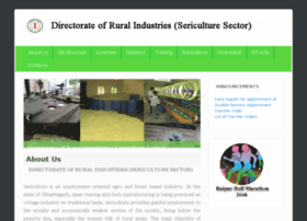 Sericulture.cgstate.gov.in thumbnail