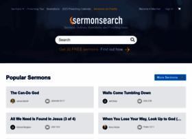 Sermonsearch.com thumbnail