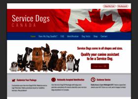 Servicedogscanada Org At Wi Service Dog Certification Online Service Dog Registration Service