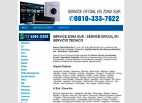 Serviceoficialzonasur.com thumbnail