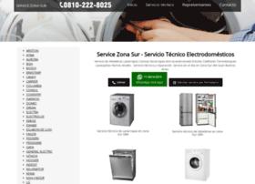 Servicezonasur.com.ar thumbnail
