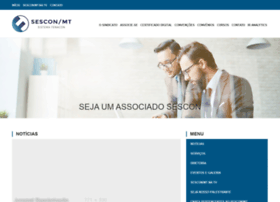 Sescon-mt.com.br thumbnail