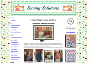 Sewing-solutions.com thumbnail