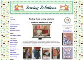 Sewing-solutions.com thumbnail