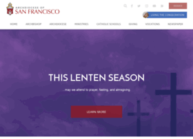Sfarchdiocese.org thumbnail