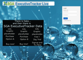 Sgaexecutivetracker.com thumbnail