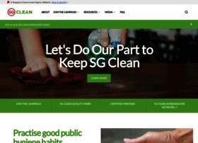 Sgclean.gov.sg thumbnail