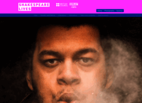 Shakespearelives.org thumbnail