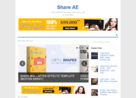 shareae win at WI  Share AE - Share After Effect template