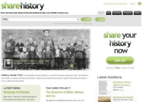 Sharehistory.org thumbnail
