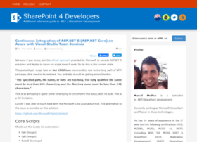 Sharepoint4developers.net thumbnail
