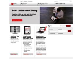 Online share trading hsbc