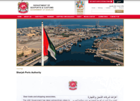 Sharjahports.gov.ae thumbnail