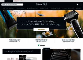 Shavers.co.uk thumbnail