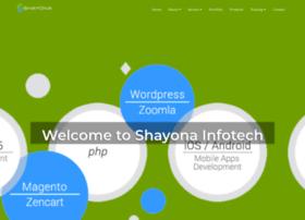 Shayonainfotech.com thumbnail