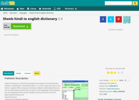 Sheels-hindi-to-english-dictionary.soft112.com thumbnail
