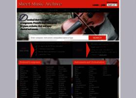 Sheetmusicarchive.net thumbnail