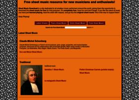 Sheetmusicdownload.in thumbnail