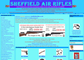 Sheffieldairrifles.co.uk thumbnail