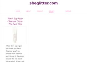 Sheglitter.com thumbnail