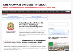 Shekhawati-university.com thumbnail