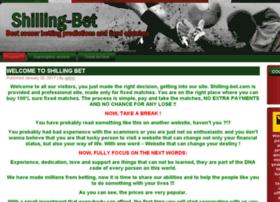 Shilling-bet.com thumbnail