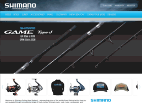 Shimanofishing.co.nz thumbnail