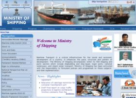 Shipping.gov.in thumbnail