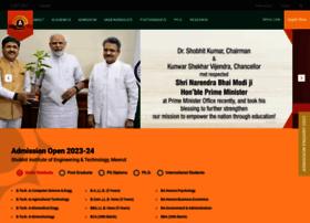 Shobhituniversity.ac.in thumbnail