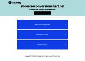 Shoesizeconversionchart.net thumbnail
