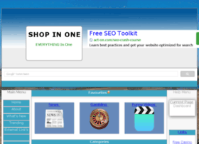 Shop-in-one.co.uk thumbnail