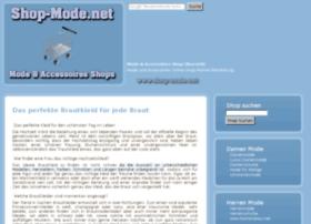 Shop-mode.net thumbnail