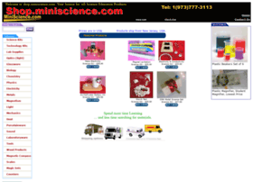 Shop.miniscience.com thumbnail