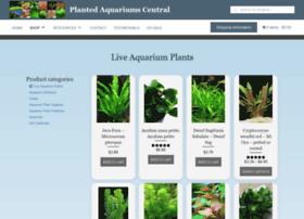 Shop.plantedaquariumscentral.com thumbnail