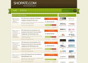 Shopate.com thumbnail