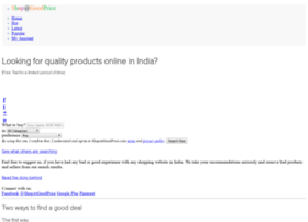 Shopatgoodprice.com thumbnail