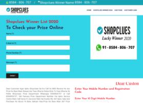 Shopclueswinnerlist2020.in thumbnail