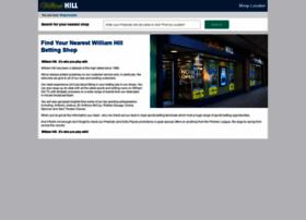 william hill betting shops locator