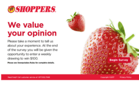 Shopperslistens.com thumbnail