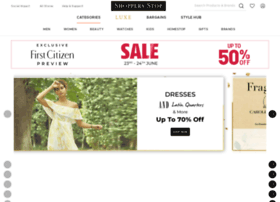 Shoppersstop.com thumbnail