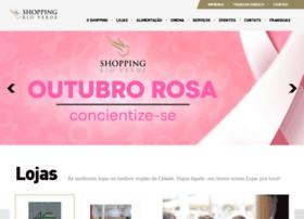 Shoppingrioverdego.com.br thumbnail