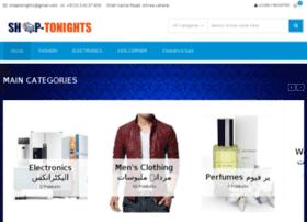 Shoptonights.com thumbnail