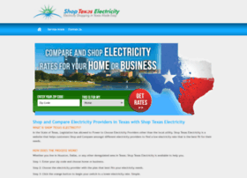 Shoptxelectricity.com thumbnail