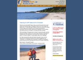 Shorewalk.ca thumbnail