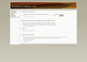 Shortlinks.de thumbnail