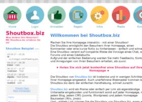 Shoutbox.biz thumbnail